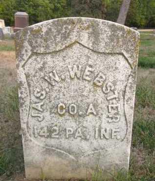WEBSTER, JAMES WOOD - Douglas County, Nebraska | JAMES WOOD WEBSTER - Nebraska Gravestone Photos