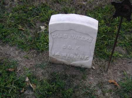 WEEKS, CHAS - Douglas County, Nebraska   CHAS WEEKS - Nebraska Gravestone Photos