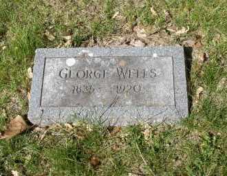 WELLS, GEORGE - Douglas County, Nebraska   GEORGE WELLS - Nebraska Gravestone Photos