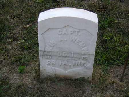 WEMPLE, EDWIN A. - Douglas County, Nebraska | EDWIN A. WEMPLE - Nebraska Gravestone Photos