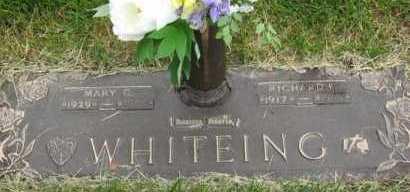 WHITEING, MARY C. - Douglas County, Nebraska | MARY C. WHITEING - Nebraska Gravestone Photos