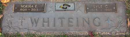 WHITEING, NORMA E. - Douglas County, Nebraska | NORMA E. WHITEING - Nebraska Gravestone Photos