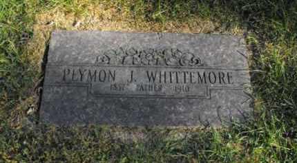 WHITTEMORE, PLYMON J. - Douglas County, Nebraska | PLYMON J. WHITTEMORE - Nebraska Gravestone Photos