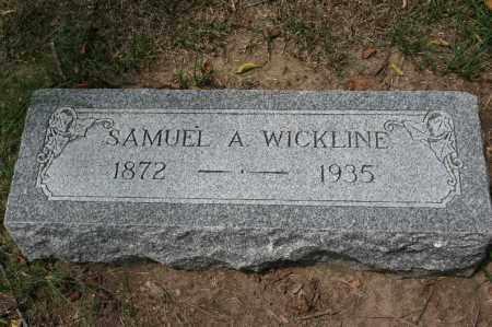 WICKLINE, SAMUEL A. - Douglas County, Nebraska | SAMUEL A. WICKLINE - Nebraska Gravestone Photos