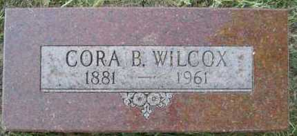 WILCOX, CORA B. - Douglas County, Nebraska | CORA B. WILCOX - Nebraska Gravestone Photos