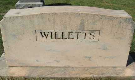 WILLETTS, FAMILY - Douglas County, Nebraska | FAMILY WILLETTS - Nebraska Gravestone Photos