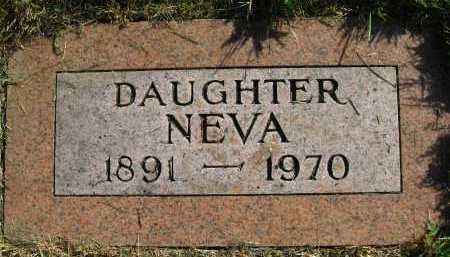 WILLETTS, NEVA - Douglas County, Nebraska | NEVA WILLETTS - Nebraska Gravestone Photos
