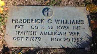 WILLIAMS, FREDERICK C. - Douglas County, Nebraska | FREDERICK C. WILLIAMS - Nebraska Gravestone Photos