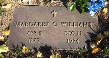 WILLIAMS, MARGARET C. - Douglas County, Nebraska   MARGARET C. WILLIAMS - Nebraska Gravestone Photos
