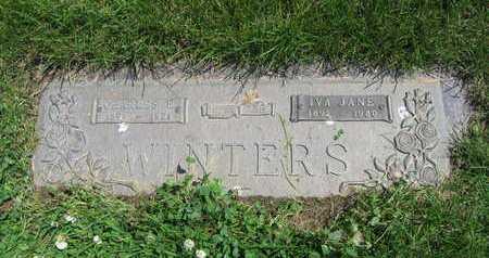 WINTERS, IVA JANE - Douglas County, Nebraska | IVA JANE WINTERS - Nebraska Gravestone Photos