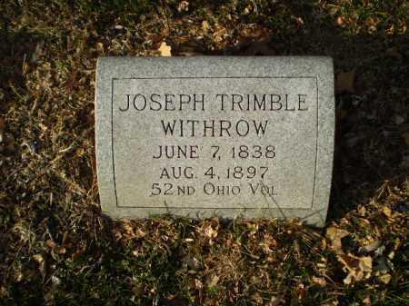 WITHROW, JOSEPH TRIMBLE - Douglas County, Nebraska | JOSEPH TRIMBLE WITHROW - Nebraska Gravestone Photos