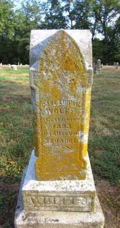 WOLFF, CARL LUDWIG - Douglas County, Nebraska   CARL LUDWIG WOLFF - Nebraska Gravestone Photos