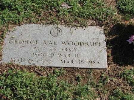 WOODRUFF, GEORGE RAE - Douglas County, Nebraska | GEORGE RAE WOODRUFF - Nebraska Gravestone Photos