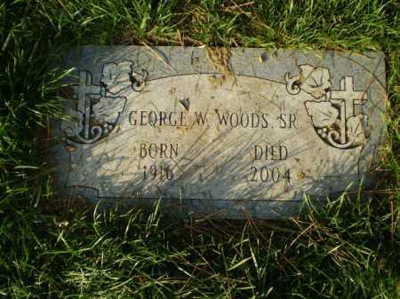 WOODS, GEORGE WASHINGTON - Douglas County, Nebraska | GEORGE WASHINGTON WOODS - Nebraska Gravestone Photos