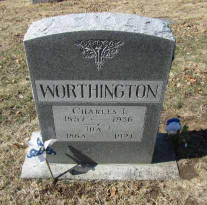 WORTHINGTON, CHARLES I - Douglas County, Nebraska | CHARLES I WORTHINGTON - Nebraska Gravestone Photos