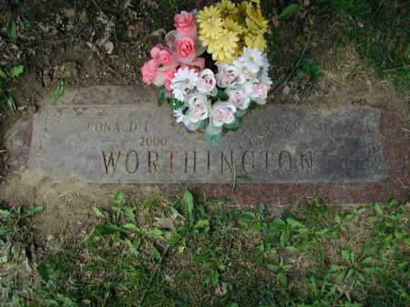 WORTHINGTON, SR, RONALD LEE - Douglas County, Nebraska | RONALD LEE WORTHINGTON, SR - Nebraska Gravestone Photos