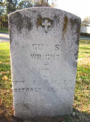 WRIGHT, GUY S. - Douglas County, Nebraska   GUY S. WRIGHT - Nebraska Gravestone Photos