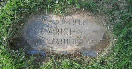 WRIGHT, IRA WINFIELD - Douglas County, Nebraska | IRA WINFIELD WRIGHT - Nebraska Gravestone Photos