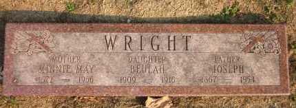 WRIGHT, BEULAH - Douglas County, Nebraska | BEULAH WRIGHT - Nebraska Gravestone Photos