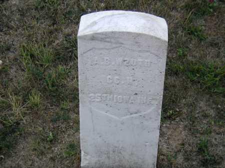 WROTH, A. B. - Douglas County, Nebraska   A. B. WROTH - Nebraska Gravestone Photos