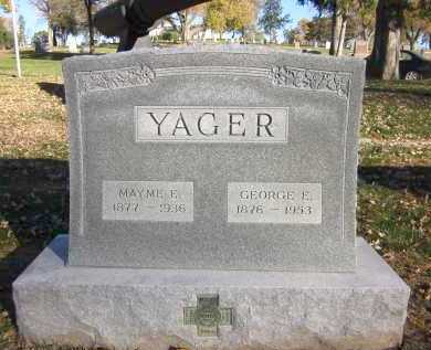 YAGER, MAYME E. - Douglas County, Nebraska   MAYME E. YAGER - Nebraska Gravestone Photos