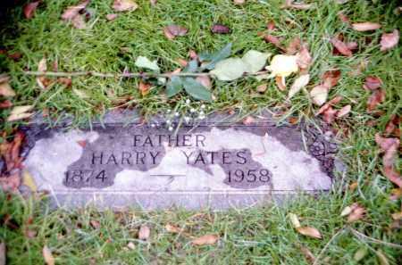 YATES, HARRY - Douglas County, Nebraska | HARRY YATES - Nebraska Gravestone Photos