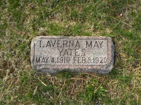 YATES, LAVERNA MAY - Douglas County, Nebraska | LAVERNA MAY YATES - Nebraska Gravestone Photos