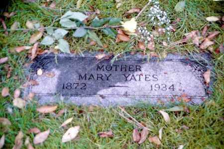 SHIPLEY YATES, MARY - Douglas County, Nebraska | MARY SHIPLEY YATES - Nebraska Gravestone Photos