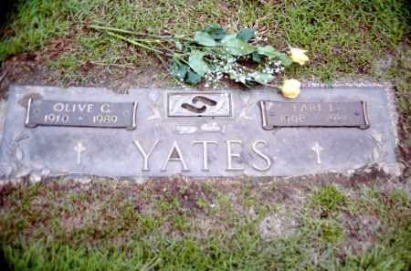 MILLER YATES, OLIVE GERTRUDE & EARL LEROY - Douglas County, Nebraska   OLIVE GERTRUDE & EARL LEROY MILLER YATES - Nebraska Gravestone Photos