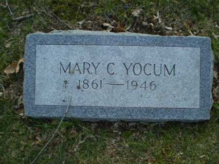 YOCUM, MARY C. - Douglas County, Nebraska | MARY C. YOCUM - Nebraska Gravestone Photos