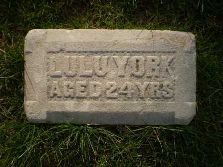 YORK, LULU - Douglas County, Nebraska   LULU YORK - Nebraska Gravestone Photos