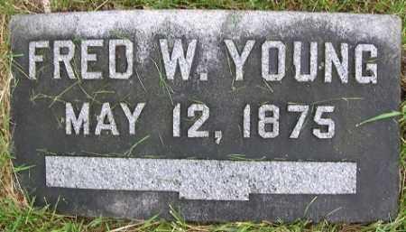 YOUNG, FRED W. - Douglas County, Nebraska | FRED W. YOUNG - Nebraska Gravestone Photos
