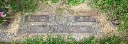 YOUNG, HAROLD A., SR. - Douglas County, Nebraska   HAROLD A., SR. YOUNG - Nebraska Gravestone Photos