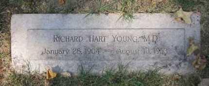 YOUNG, MD, RICHARD HART - Douglas County, Nebraska | RICHARD HART YOUNG, MD - Nebraska Gravestone Photos