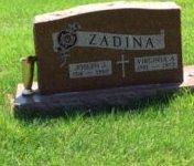 ZADINA, JOSEPH J. - Douglas County, Nebraska | JOSEPH J. ZADINA - Nebraska Gravestone Photos