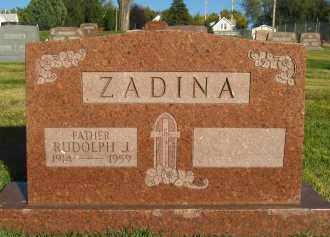 ZADINA, RUDOLPH J - Douglas County, Nebraska | RUDOLPH J ZADINA - Nebraska Gravestone Photos