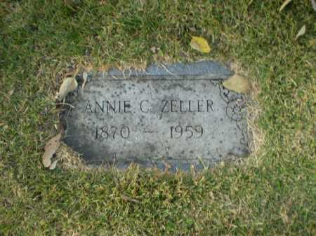 ZELLER, ANNIE C - Douglas County, Nebraska   ANNIE C ZELLER - Nebraska Gravestone Photos