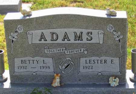 DEWITT ADAMS, BETTY L. - Dundy County, Nebraska | BETTY L. DEWITT ADAMS - Nebraska Gravestone Photos