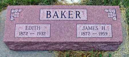 BAKER, EDITH - Dundy County, Nebraska | EDITH BAKER - Nebraska Gravestone Photos