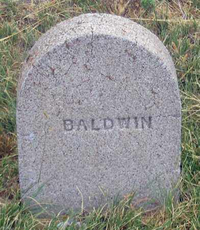 BALDWIN, UNKNOWN - Dundy County, Nebraska | UNKNOWN BALDWIN - Nebraska Gravestone Photos