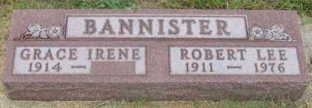 BANNISTER, ROBERT LEE - Dundy County, Nebraska | ROBERT LEE BANNISTER - Nebraska Gravestone Photos