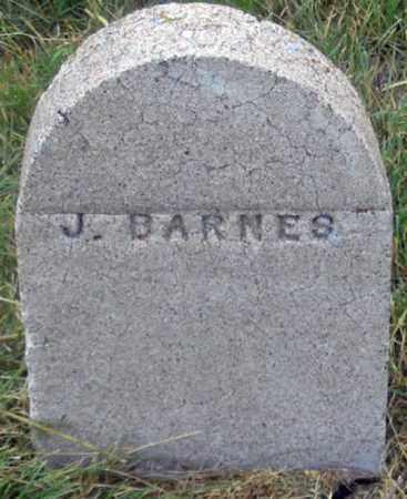 BARNES, JOHN (?) - Dundy County, Nebraska | JOHN (?) BARNES - Nebraska Gravestone Photos
