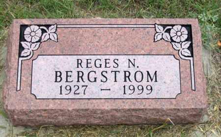 BARNES BERGSTROM, REGES N. - Dundy County, Nebraska | REGES N. BARNES BERGSTROM - Nebraska Gravestone Photos