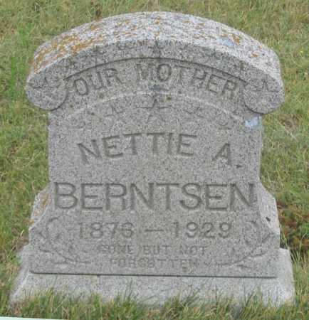 BERNTSEN, NETTIE A. - Dundy County, Nebraska | NETTIE A. BERNTSEN - Nebraska Gravestone Photos