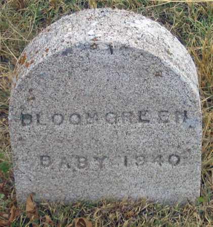 BLOOMGREN, BABY 1940 - Dundy County, Nebraska | BABY 1940 BLOOMGREN - Nebraska Gravestone Photos