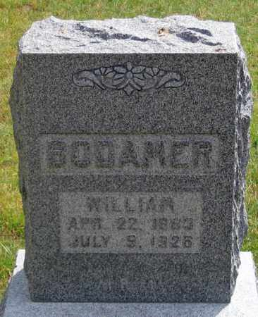 BODAMER, WILLIAM - Dundy County, Nebraska | WILLIAM BODAMER - Nebraska Gravestone Photos