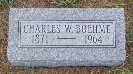 BOEHME, CHARLES W. - Dundy County, Nebraska | CHARLES W. BOEHME - Nebraska Gravestone Photos