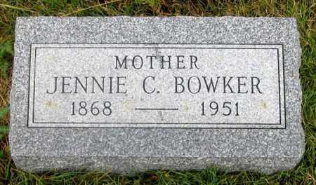 PRINGLE BOWKER, JENNIE C. - Dundy County, Nebraska | JENNIE C. PRINGLE BOWKER - Nebraska Gravestone Photos