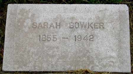 MORGAN BOWKER, SARAH LOUISE - Dundy County, Nebraska | SARAH LOUISE MORGAN BOWKER - Nebraska Gravestone Photos