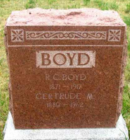 BOYD, GERTRUDE MAY - Dundy County, Nebraska   GERTRUDE MAY BOYD - Nebraska Gravestone Photos